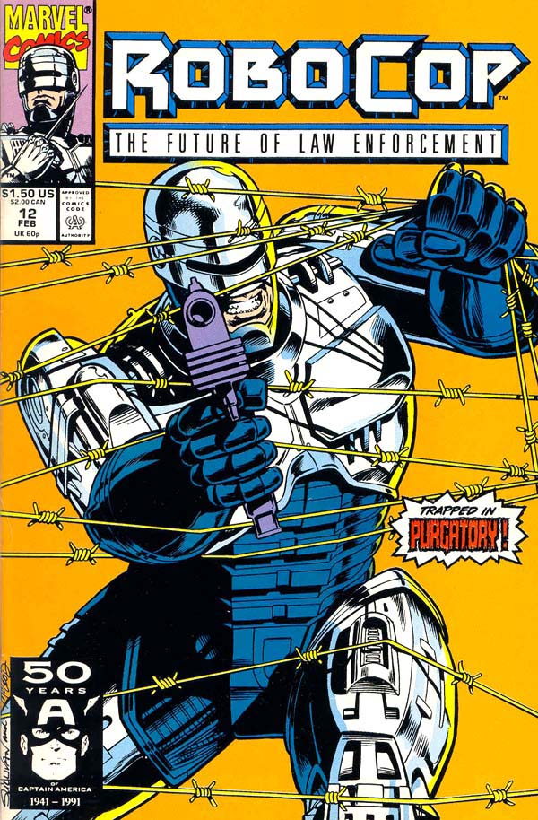 Robocop Comics Index