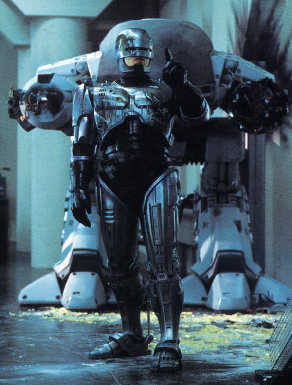 Ed 209 Making Of Robocop