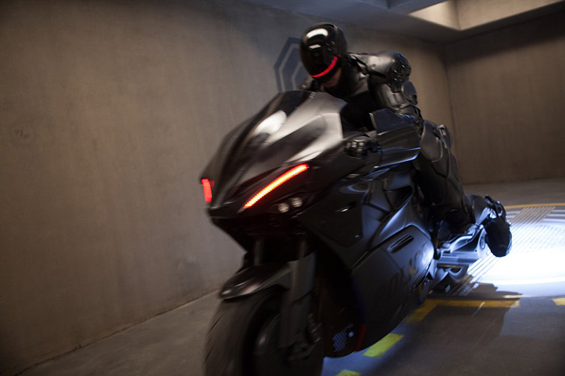 Robocop 2014 The Bike